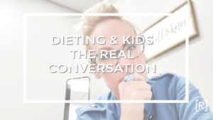 DIETING AND KIDS THE CONVERSATION SANDRA HASELEY